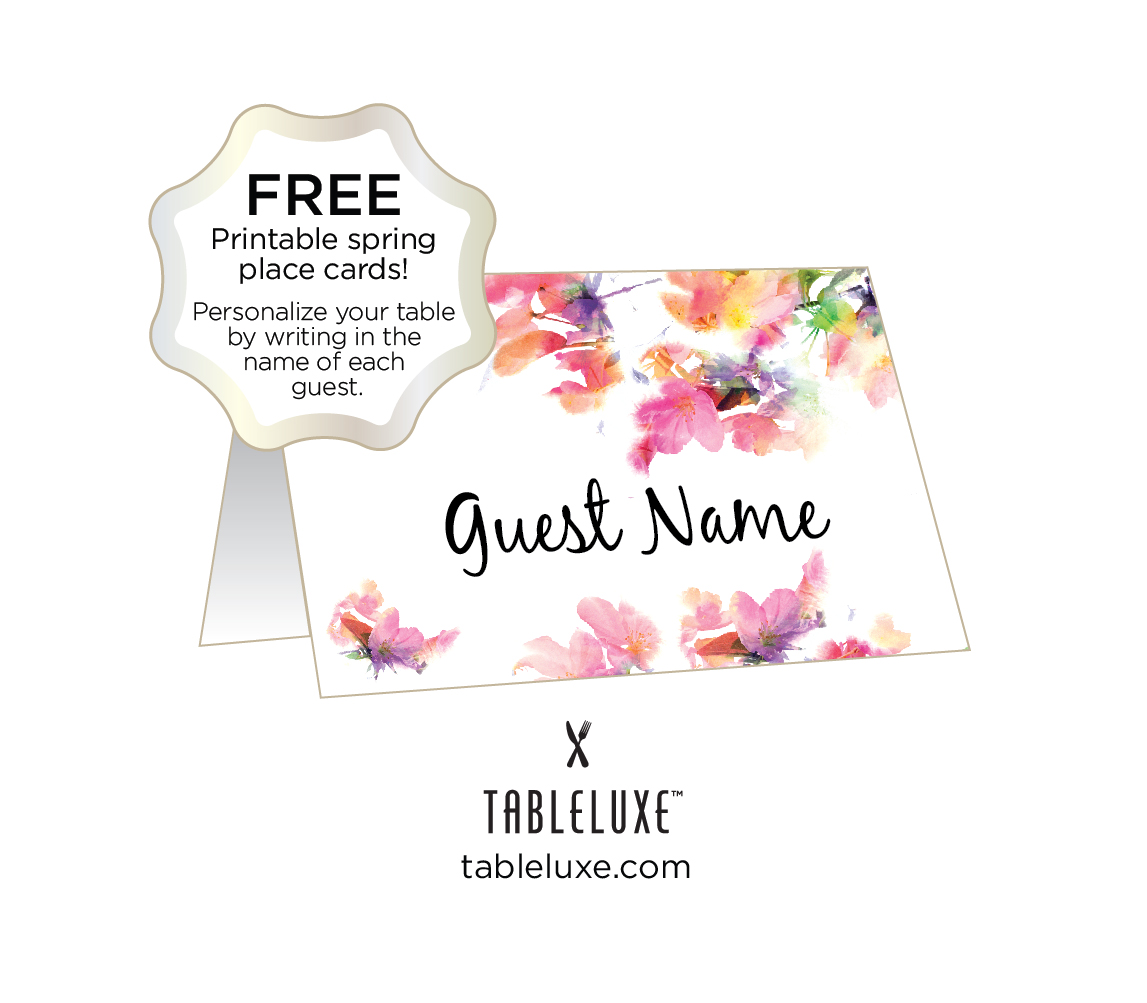 It is a photo of Free Printable Place Cards within wedding